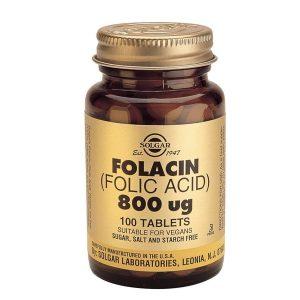 Folacin Tablets 800ug (100)