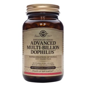 Solgar Advanced Multi Billion Dophilus 60 Vegetable Capsules