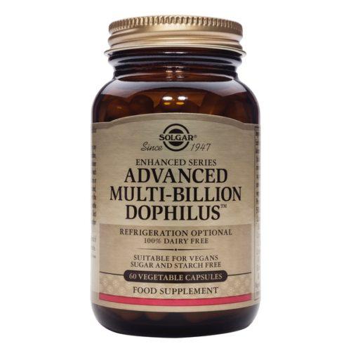 Solgar Advanced Multi Billion Dophilus 60 Vegetable Capsules