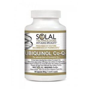 Ubiquinol Co-Q10 – 50mg (60 softgel capsules)