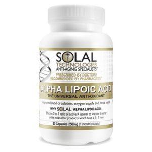 solal Alpha Lipoic Acid (60 capsules)
