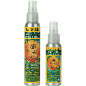 organic natural anti bug spray repellent badger