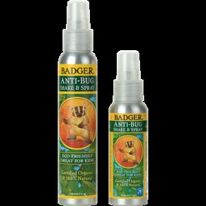 organic natural anti bug spray repellent badger