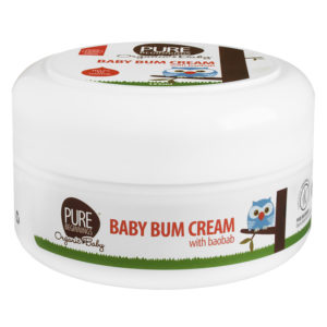 pure beginnings baby bum cream