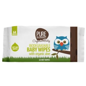 pure beginnings natural bamboo baby wipes