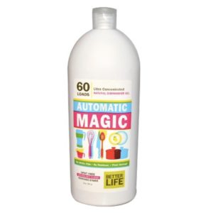 Automatic Magic-Ultra Concentrated Natural Dishwasher Gel-60 Loads