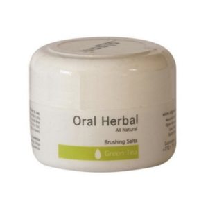 oral herbal Brushing Salts-Green Tea