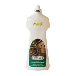 earthsap Dishwashing Liquid Citrus Double Strength 750ml