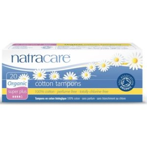 natracare cotton tampons super + 16