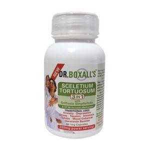 Dr Boxalls Sceletium Tortuosum 3 in 1 with 5 HTP